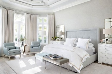 Minimalist But Beautiful White Bedroom Design Ideas 41