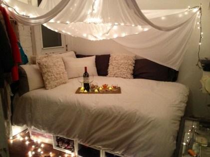 Modern And Romantic Bedroom Lighting Decor Ideas 45