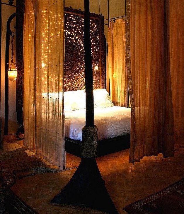 Modern And Romantic Bedroom Lighting Decor Ideas 58