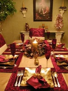 Most Popular Christmas Table Decoration Ideas 54
