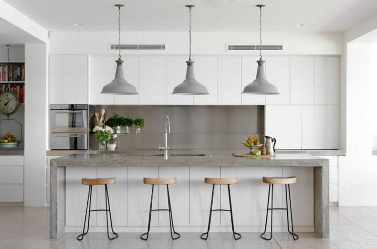Perfect White Kitchen Design Ideas 41