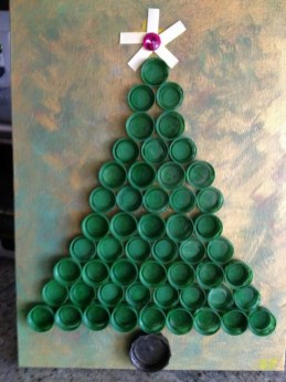 Stunning And Unique Recycled Christmas Tree Decoration Ideas 17