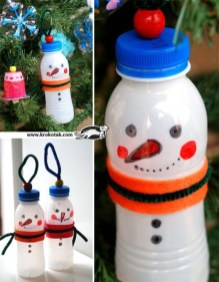 Stunning And Unique Recycled Christmas Tree Decoration Ideas 21