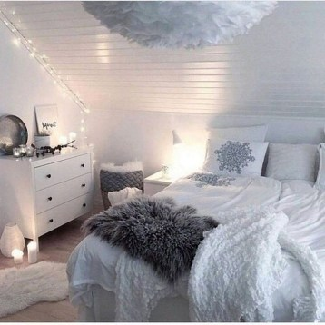 Adorable Bedroom Decoration Ideas For Winter 08