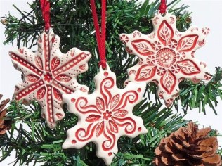 Awesome Red And White Christmas Tree Decoration Ideas 30