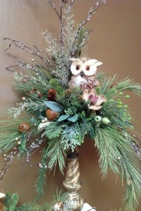 Beautiful Flower Christmas Decoration Ideas 02