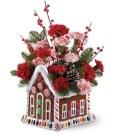 Beautiful Flower Christmas Decoration Ideas 03