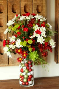 Beautiful Flower Christmas Decoration Ideas 05