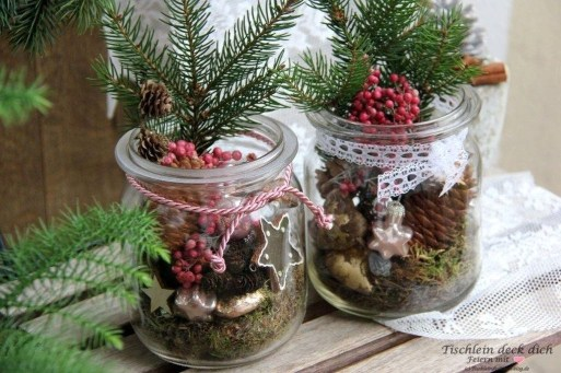 Beautiful Flower Christmas Decoration Ideas 33