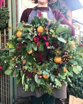 Beautiful Flower Christmas Decoration Ideas 51