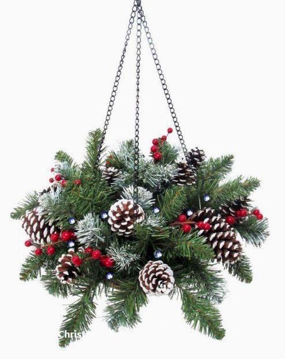 Beautiful Flower Christmas Decoration Ideas 57