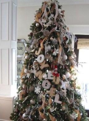 Charming Traditional Christmas Tree Decor Ideas 24
