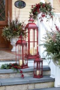 Cozy Outdoor Christmas Decoration Ideas 20