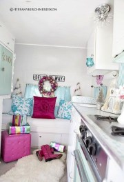 Creative RV Remodel Ideas For Christmas 41