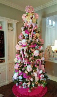 Cute Pink Christmas Tree Decoration Ideas You Will Totally Love 01