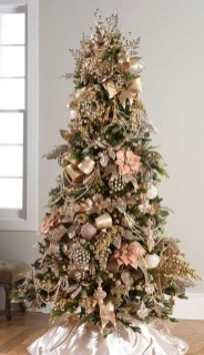 Cute Pink Christmas Tree Decoration Ideas You Will Totally Love 22