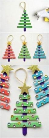 Easy DIY Christmas Ornaments Decoration Ideas 24