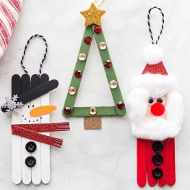 Easy DIY Christmas Ornaments Decoration Ideas 29