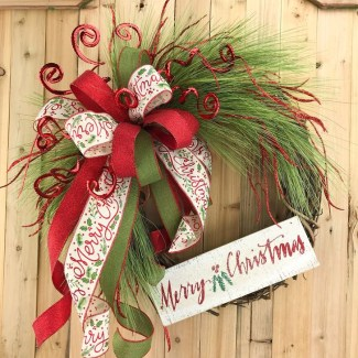Excellent Christmas Wearth Decoration For Your Door 10