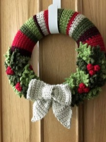 Excellent Christmas Wearth Decoration For Your Door 25