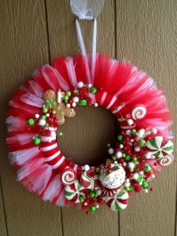 Excellent Christmas Wearth Decoration For Your Door 41