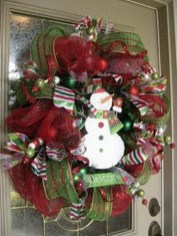 Excellent Christmas Wearth Decoration For Your Door 49