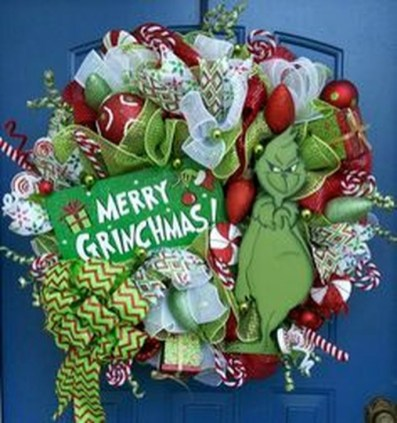 Excellent Christmas Wearth Decoration For Your Door 55