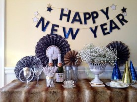Fantastic New Years Eve Party Table Decoration Ideas 16