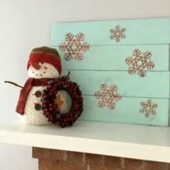 Inspiring Wooden Winter Decoration Ideas 13