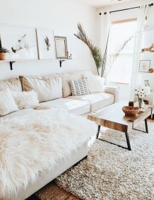 Lovely Neutral Decoration Ideas For Your Living Room 01