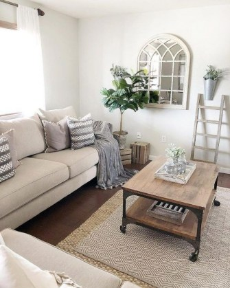 Lovely Neutral Decoration Ideas For Your Living Room 33