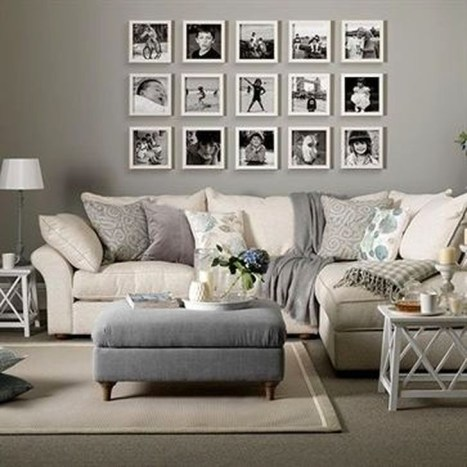 Lovely Neutral Decoration Ideas For Your Living Room 53