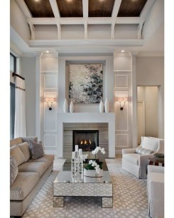 Popular Winter Living Room Design For Inspiration 18