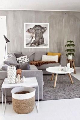 Popular Winter Living Room Design For Inspiration 25