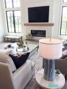 Popular Winter Living Room Design For Inspiration 36