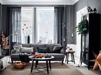 Popular Winter Living Room Design For Inspiration 45