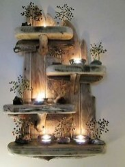 Stunning Shabby Chic Christmas Decoration Ideas 10