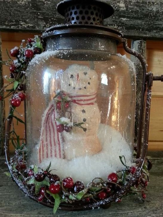 Stunning Shabby Chic Christmas Decoration Ideas 19