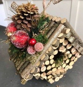 Stunning Shabby Chic Christmas Decoration Ideas 20