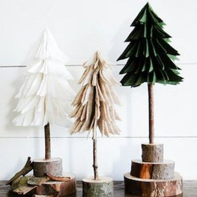 Stunning Shabby Chic Christmas Decoration Ideas 25