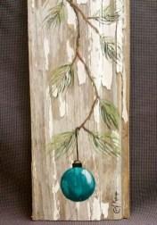 Stunning Shabby Chic Christmas Decoration Ideas 48