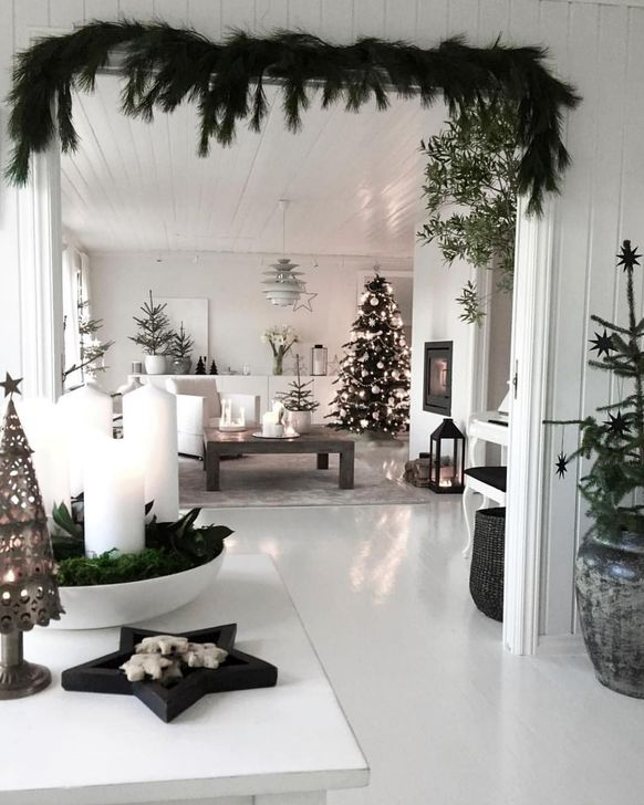 Wonderful Scandinavian Christmas Decoration Ideas 37