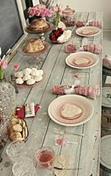 Beautiful Valentines Day Table Decoration Ideeas 11