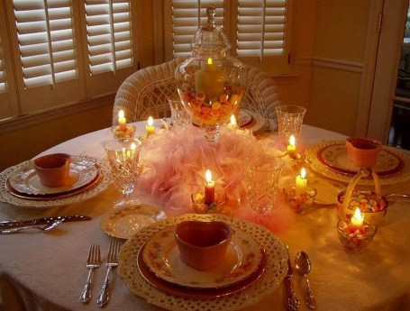 Beautiful Valentines Day Table Decoration Ideeas 16