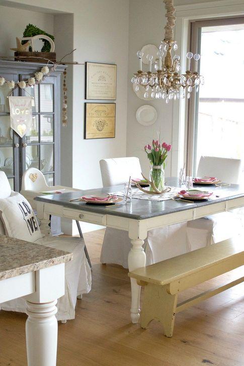 Beautiful Valentines Day Table Decoration Ideeas 36