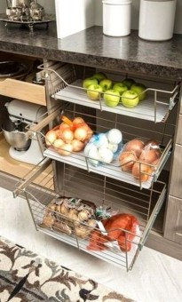 Best DIY Kitchen Storage Ideas For More Space In The Kitchen 23