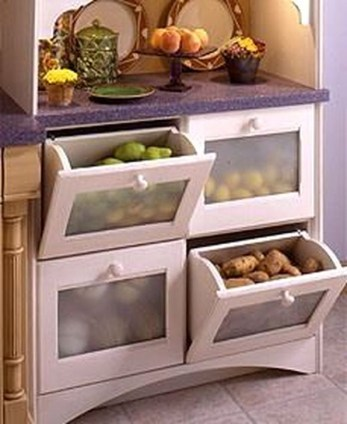 Best DIY Kitchen Storage Ideas For More Space In The Kitchen 34