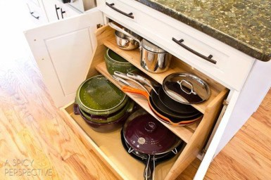 Best DIY Kitchen Storage Ideas For More Space In The Kitchen 50