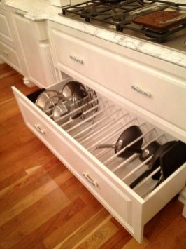 Best DIY Kitchen Storage Ideas For More Space In The Kitchen 58