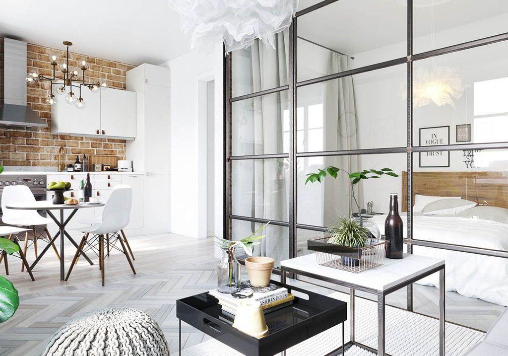 Brilliant Studio Apartment Decor Ideas On A Budget 05